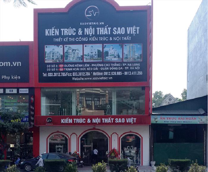 bảng hiệu quảng cáo công ty xây dựng